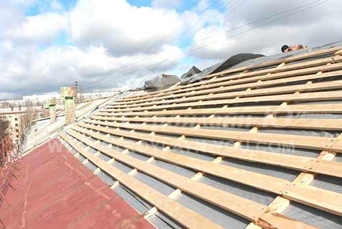 Заказать капитальный ремонт крыши дома в Николаеве