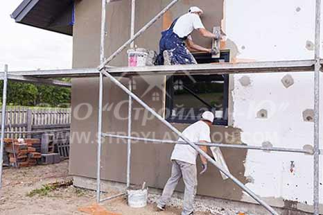 Утепление фасадов стен домов